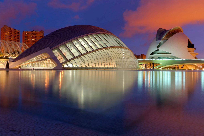Viaje por la arquitectura española por Madrid, Valencia y Barcelona